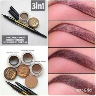 Landbis - Lanbis Eyebrow Gel & Eyeliner + Brush 3 in1