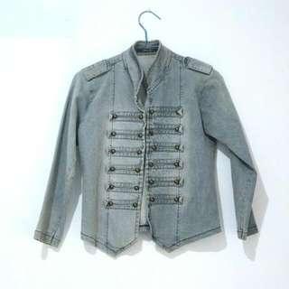 Denim Jeans Jacket Outer