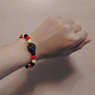 【贈品】德國國旗配色手環