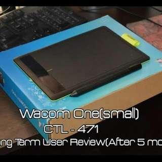 wacom CTL471 tablet