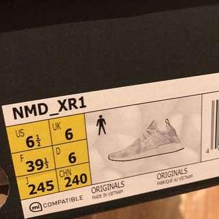 AUTHENTIC Adidas Originals NMD XR1