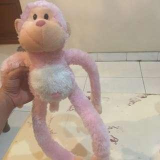 #TisGratis Boneka Monyet Lucu