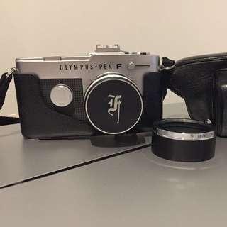 Olympus Pen FT Half Frame Camera