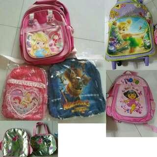 250141932160 BN  PL kids school bag   trolley bag