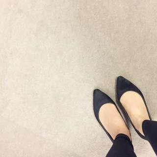 Windsor Smith Real Leather Black Flats