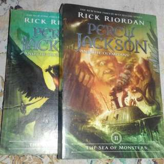 Percy Jackson And The Olympians Book 2 And 3