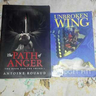 The Path O Anger And Unbroken Wing