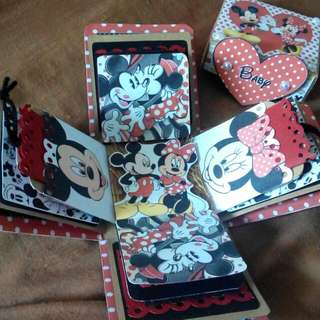 Mickey & Minnie Mouse Explosion Box