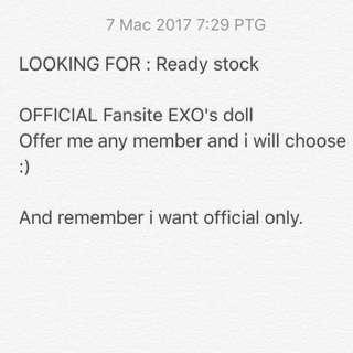 EXO DOLL (WTB)