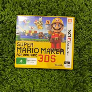 Super Marino Maker 3ds
