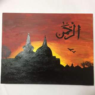 Handcrafted Canvas Painting