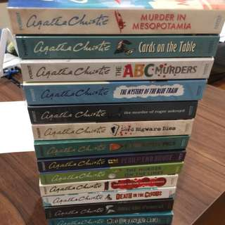 Agatha Christie Novels $10 each