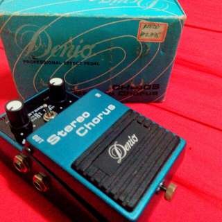 ELectric Guitar,,,-stereo Chorus,,(denio Effect Pedal)ch-40s,,