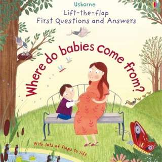 Usborne Lift The Flaps: Where Do Babies Come From?