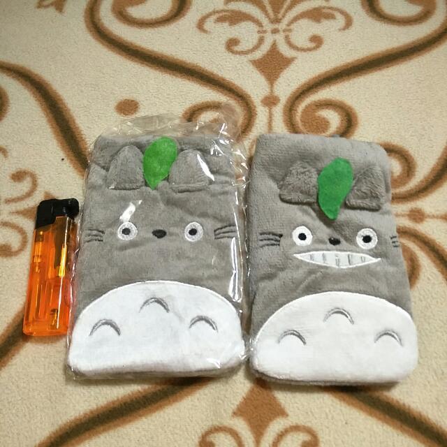 龍貓造型手機袋