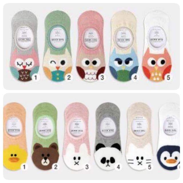 韓國止滑隱形襪