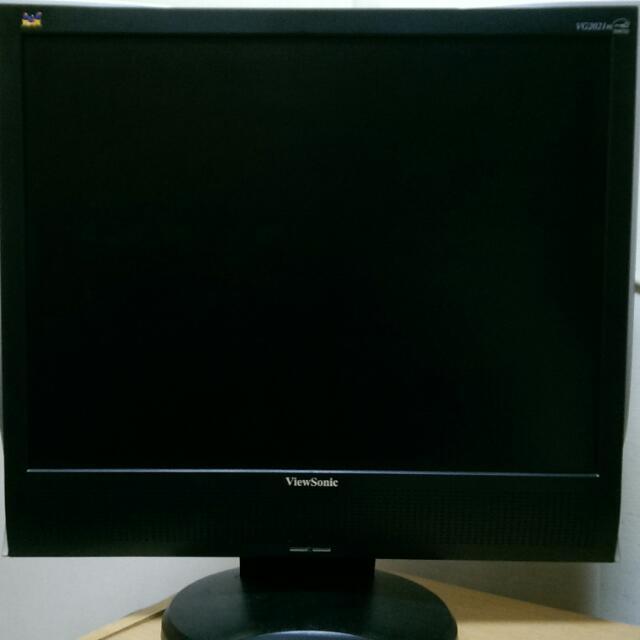Viewsonic  液晶 螢幕 顯示器 20 吋 LED LCD