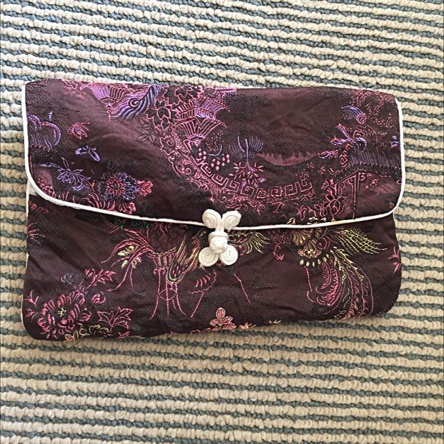 Ancient Chinese Style Cloth Lady Pouch