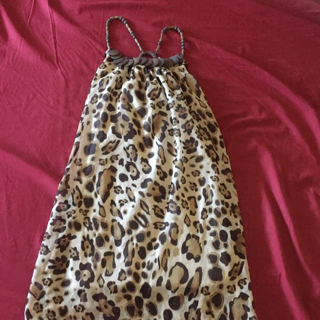 Animal Printed Dress