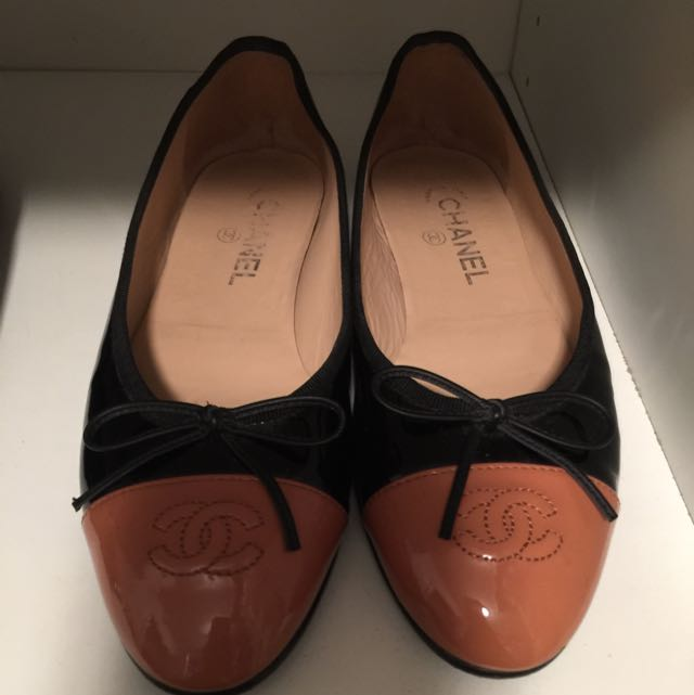 Authentic Chanel Ballet Flats