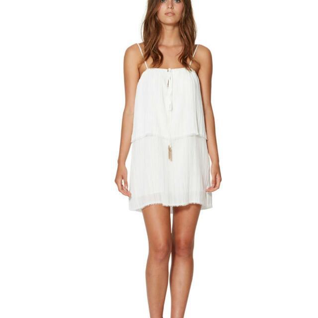 Bec And Bridge white Mini Dress