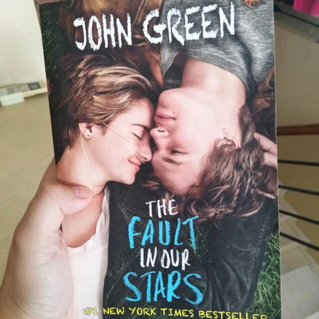 Best Seller Novel The Fault In Our Stars