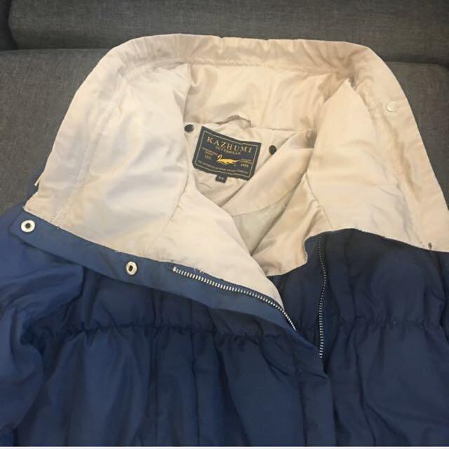 Blue Bubble Winter Jacket/Coat