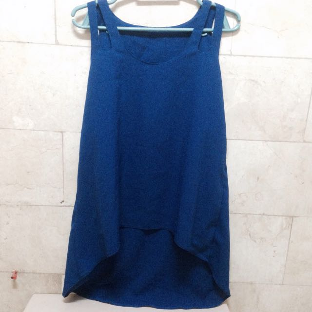 Blue Party Top