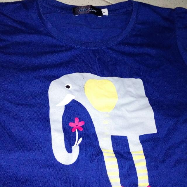 Bluecamp T-shirt  Size 10