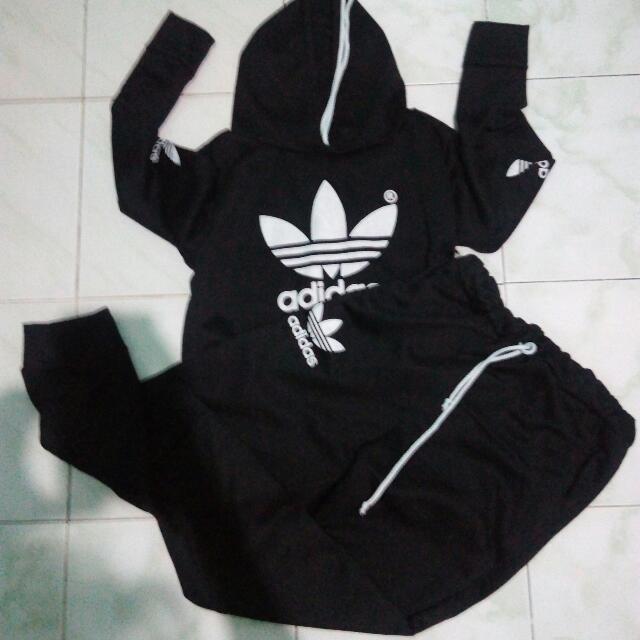 Bundle - Adidas Hoodie + Adidas Pants