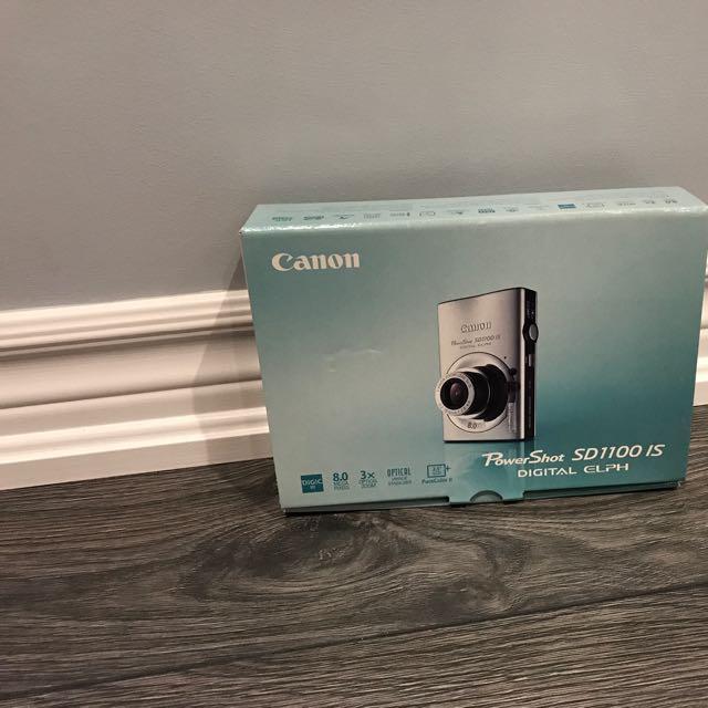 Canon Camera Sd1100