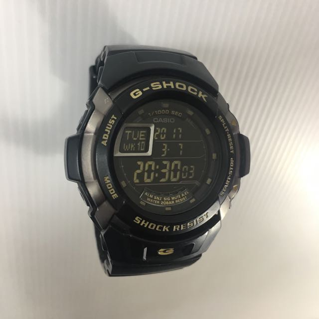CASIO G-SHOCK G-7710 黑 男女錶