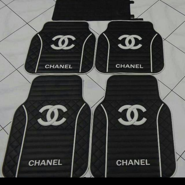CHANEL Car Floor Matt