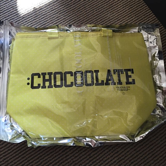Chocolate Insulated Tote Bag