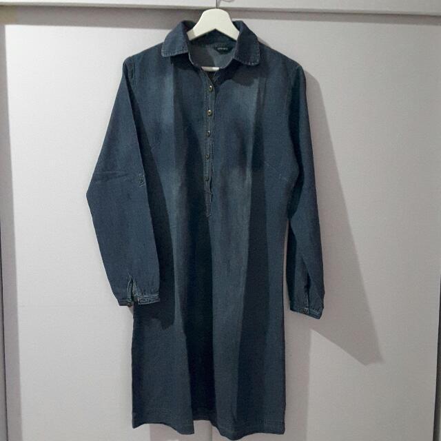 REPRICE City Girl Denim Dress