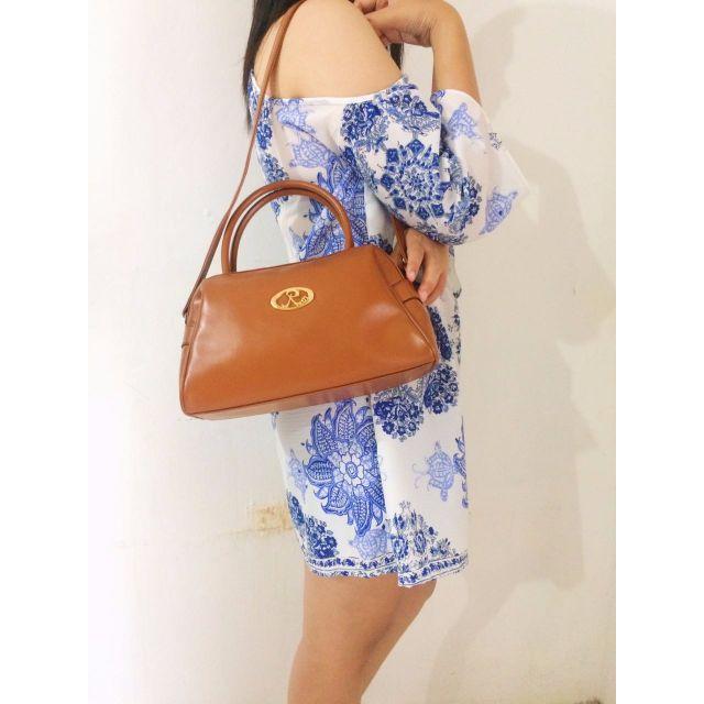 Classic Brown Handbag