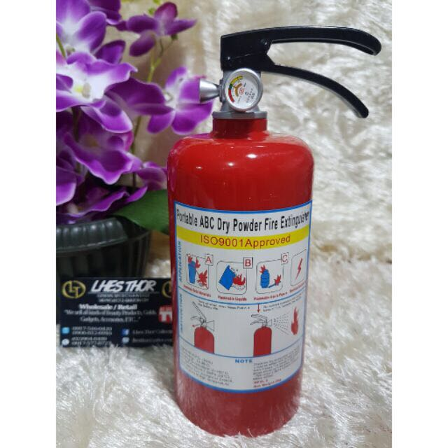 (Coin bank) Fire Extinguisher