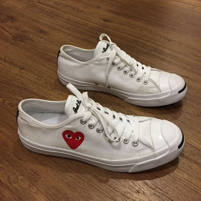 Converse Jack Purcell x Play CDG Comme Des Garcons c75cab3b2