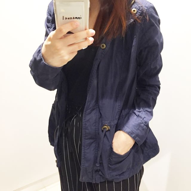 Cotton On Navy Blue Outerwear