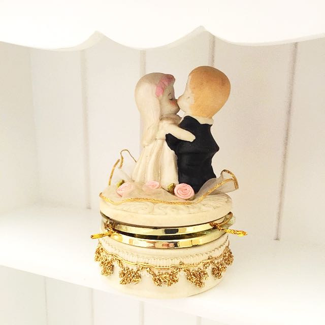 Couple Wedding mini box