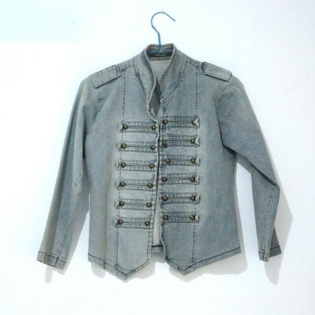 Denim Jeans Jacket Outer