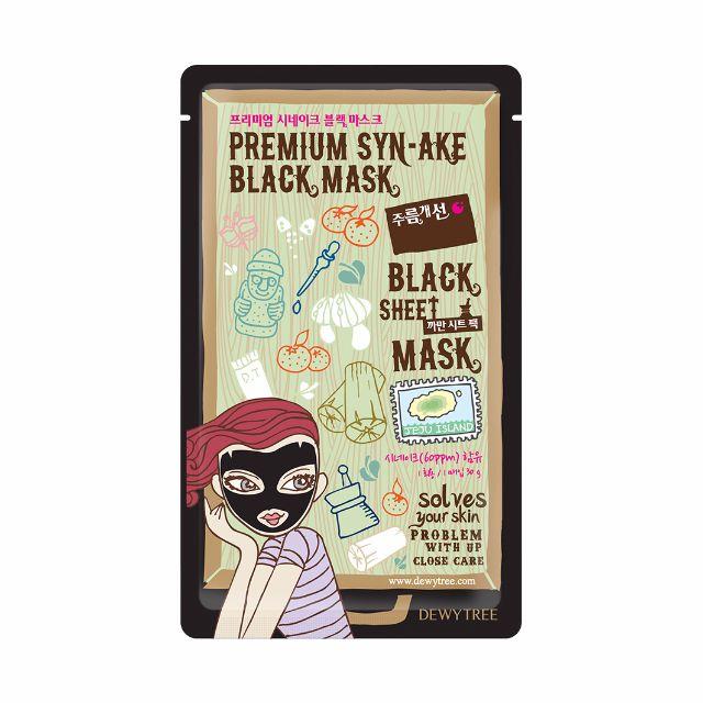 Dewytree Premium Synake Black Mask
