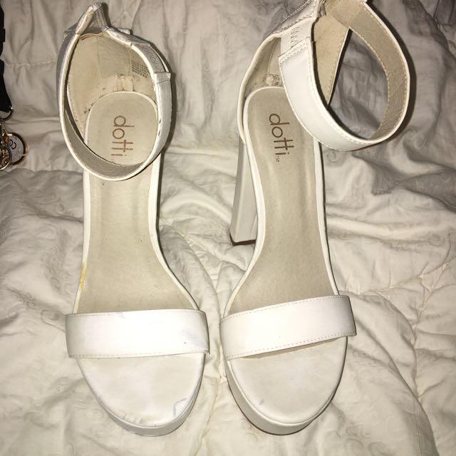 Dotti heels, size 8
