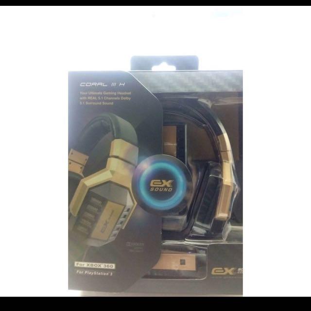微太克EXSOUND™ Coral III H 耳機麥克風
