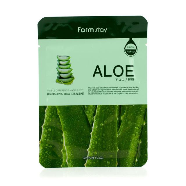 Farm Stay ALOE Essence Mask