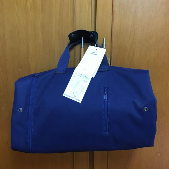 只能郵寄-全新flipbag翻轉背包-海軍藍