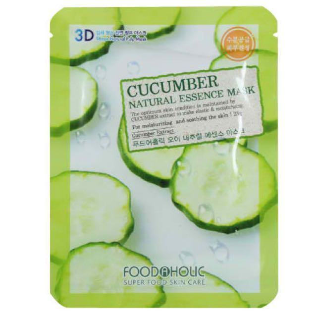 "Foodaholic Essence Mask ""COCUMBER"""
