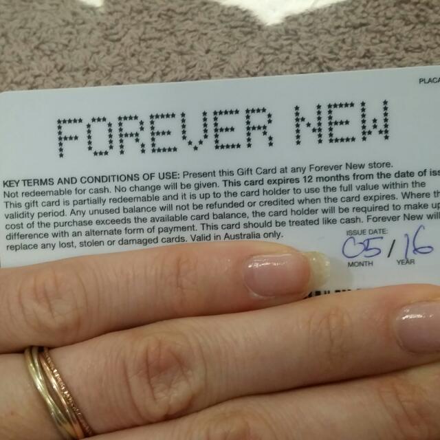 Forever New $60 Gift Card