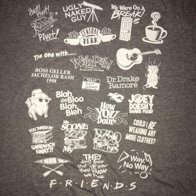 F.R.I.E.N.D.S. Grey Tshirt
