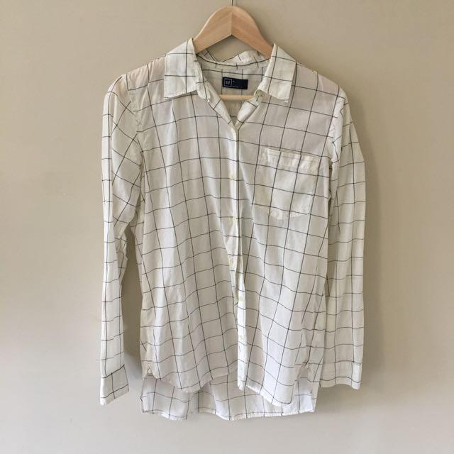 Gap Checkered Dress shirt
